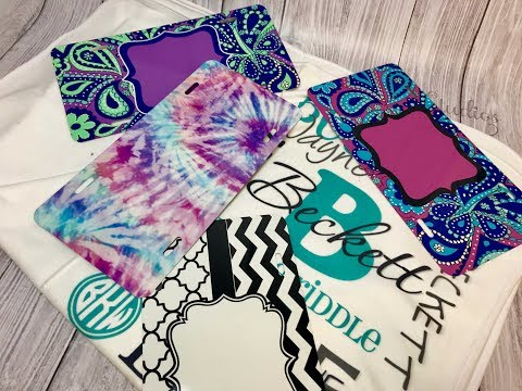 Intro to Sublimation, car tag/license plate and baby blankets, how to sublimate, what is sublimation