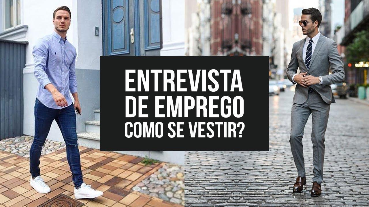 c24b21802 Como se Vestir para ENTREVISTA DE EMPREGO? Homem - #DicasMM - Dicas ...