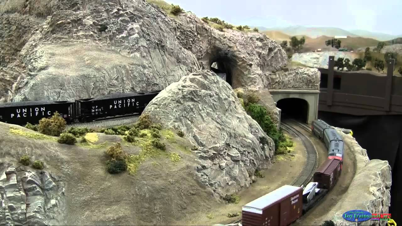 model train tunnels how to make