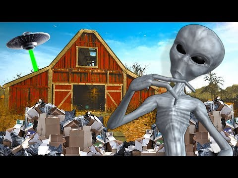 I Found Aliens While Looking For SECRET Barn Treasure! - Barn Finders Gameplay