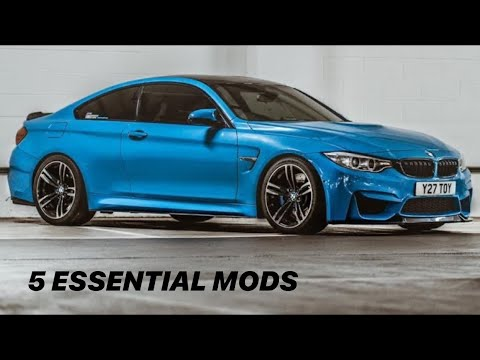 The Top 5 Essential Bmw M4 Modifications Youtube