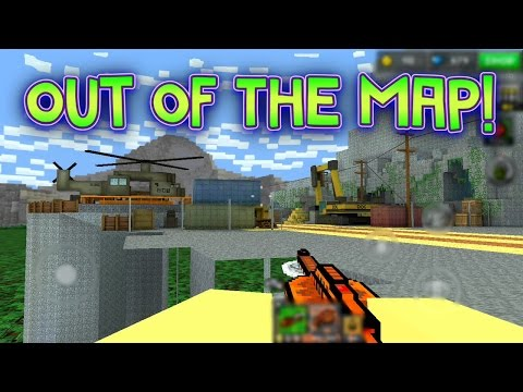 Pixel Gun 3D - Out Of The Map: Mining Camp! [New]