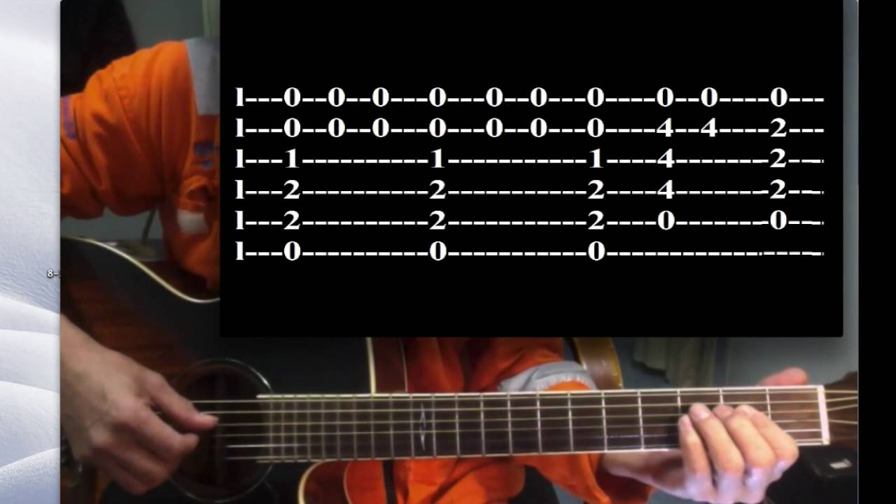 The Day You Said Good Night Hale Tutorial For Solo Guitar Slow With