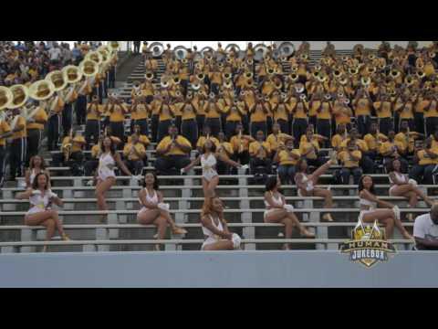 "Southern University Human Jukebox 2016 ""Before I Let Go"" by Maze Ft. Frankie Beverly   SU vs. ASU"