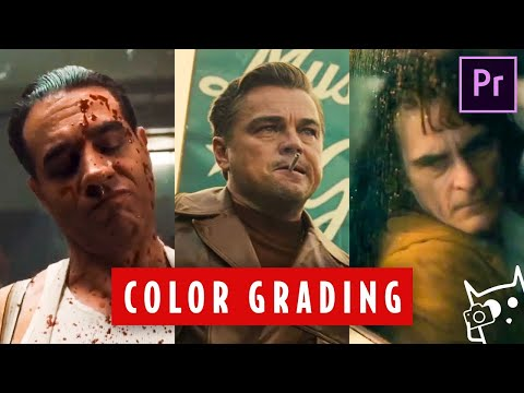 COLOR GRADING 3 OSCAR NOMINEES In Premiere Pro