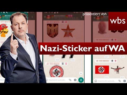 Nazi-Sticker bei WhatsApp – Das droht euch | Nutzerfragen RA Christian Solmecke