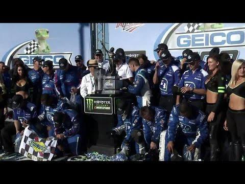 Stenhouse Wins at Talladega