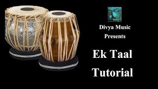 Music School India online Tabla learning lessons for beginners- How to play Tabla EK TAAL (12 Beats)