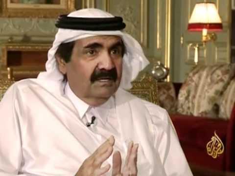 لقاء خاص الشيخ حمد بن خليفة آل ثاني