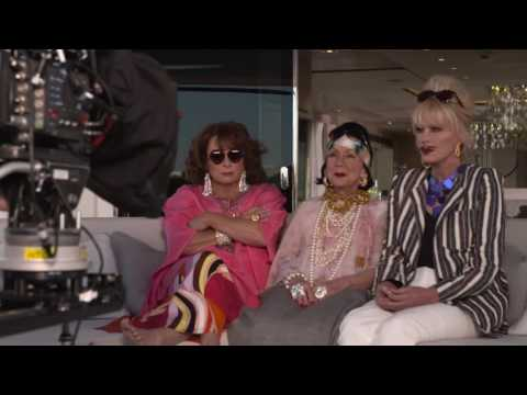 Absolutely Fabulous: The Movie: Behind the Scenes Movie Broll - Jennifer Saunders