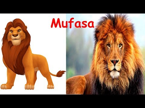 Thumbnail: The Lion King Characters in Real Life