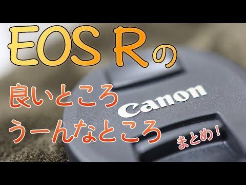 【Canon】EOS Rをしばらく使ってみての感想をまとめて雑談してみた!【EOS RというよりRFレンズが素敵説!?】【動画ばかり撮ってる】