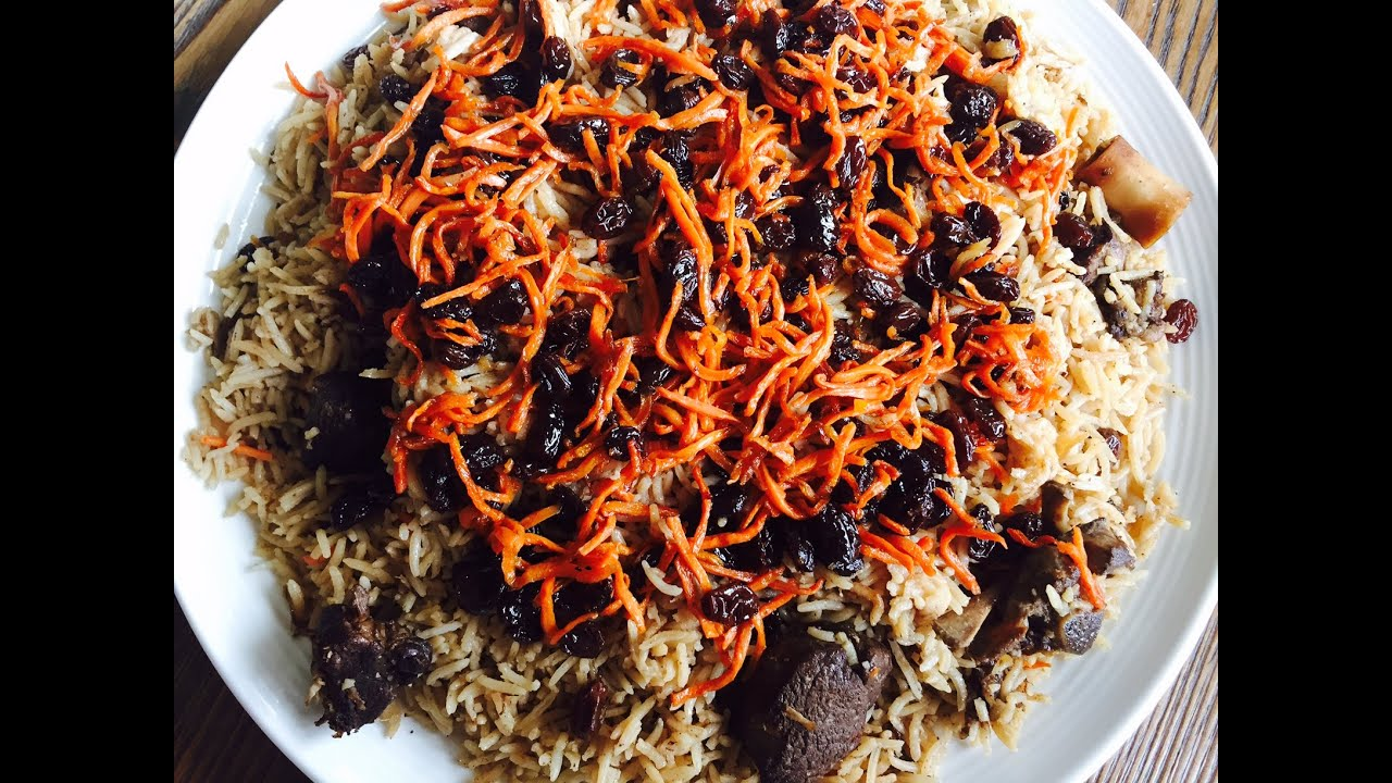 LAMB KABULI PULAO - YouTube