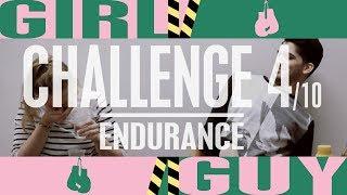 DISGUST-PONG, GET IT IN, OR EXPERIENCE HELL! GIRL VS. GUY! | Endurance | Versus #4