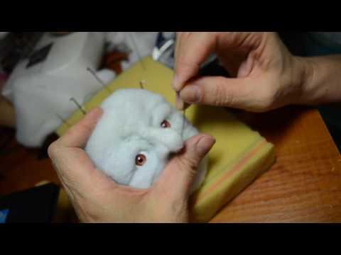 мастер класс по изготовлению скульптурной -текстильной куклы ч.2
