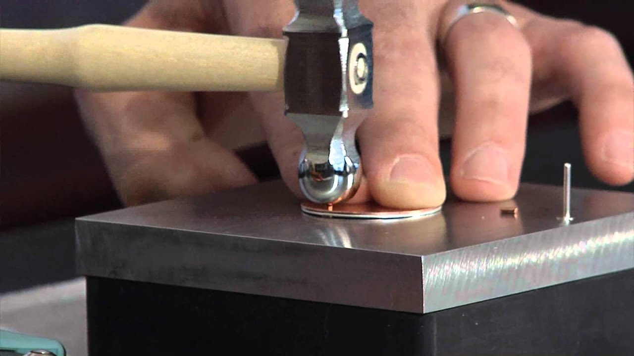 Rivet Nail Heads By Beadsmith Youtube
