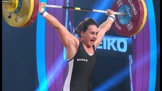 WOMEN 69kg A SNATCH / 2017 WEIGHTLIFTING WORLD CHAMPIONSHIPS