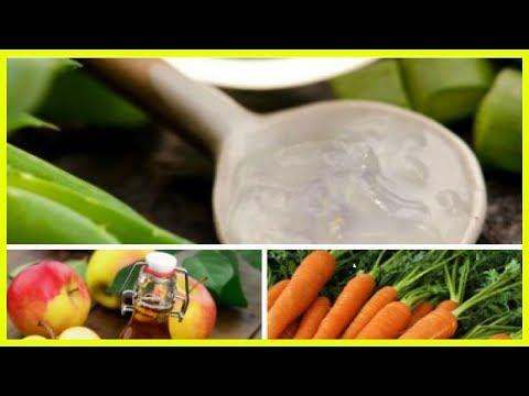 Натуральное средство из алоэ вера, моркови