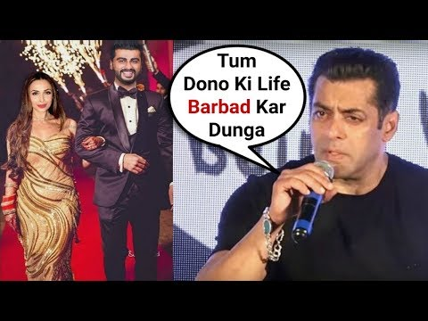 Salman Khan Angry Reaction On Malaika Arora Khan And Arjun Kapoor Wedding