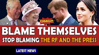 CASTAWAYS Meghan and Harry BLAME themselves, not the royal family and the press