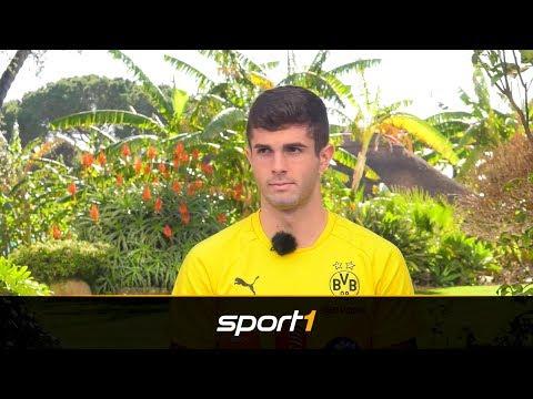Christian Pulisic traut sich Hazard-Erbe zu   SPORT1 - DER TAG