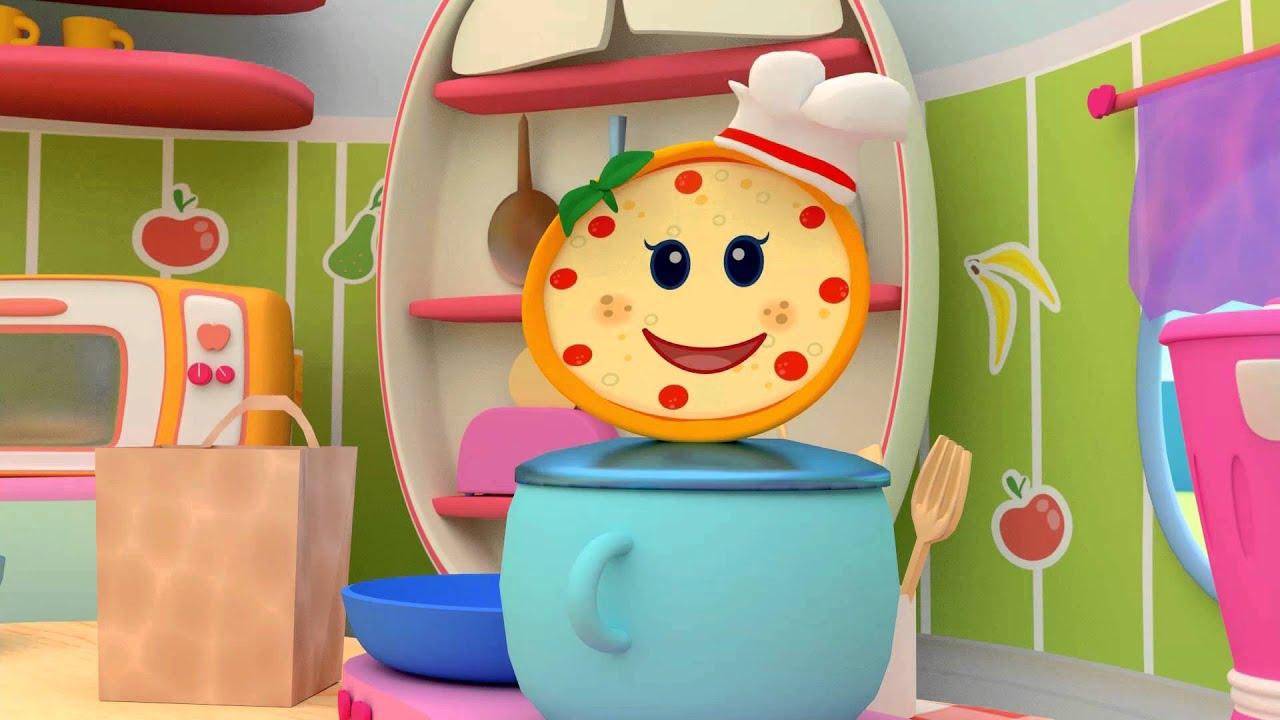 Cartoni animati per bambini la cucina dei piccoli e