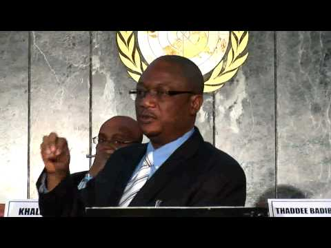Agricultural Productivity & Food Security Conference - John Ulimwengu