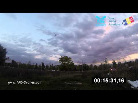 Arducopter 35min flight quadcopter by FAE