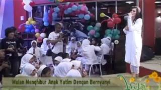 Mulan Jamela Ajak Anak Yatim Buka Bersama - cumicumi.com Mp3