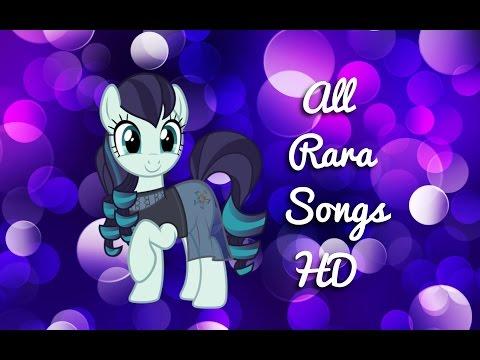 MLP FIM: All Rara's Songs (HD)