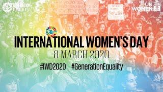 <b>International Women's Day</b> 2020 - United Nations Observance ...