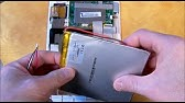 How to replace a tablet battery - YouTube