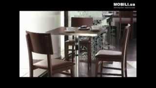 Столы стулья для кафе, гостиниц, Calligaris(Интернет магазин мебели из Италии от производителя, видео: http://MOBILI.ua ! Мы поможем Вам заказать и купить..., 2012-10-25T06:03:40.000Z)