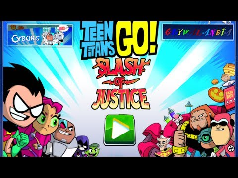 Teen Titans Go | Slash of Justice | Cyborg | Full Game | Cartoon Network |