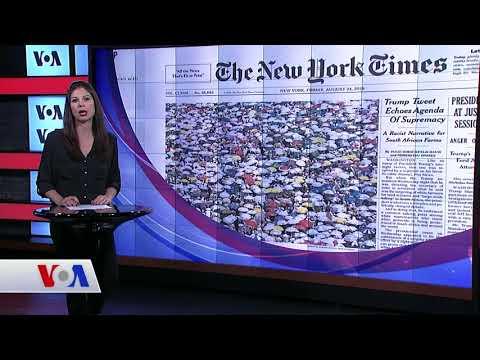 24 Ağustos Amerikan Basınından Özetler