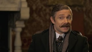 Funniest moments on set - Sherlock: The Abominable Bride - BBC One Christmas 2015