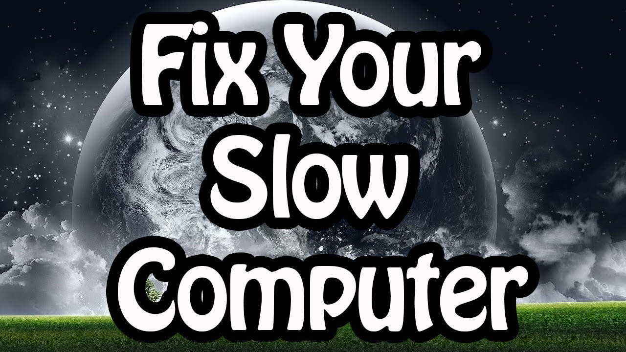 Why the computer is running slowly