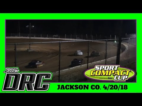 Jackson County Speedway | 4/20/18 | Compacts
