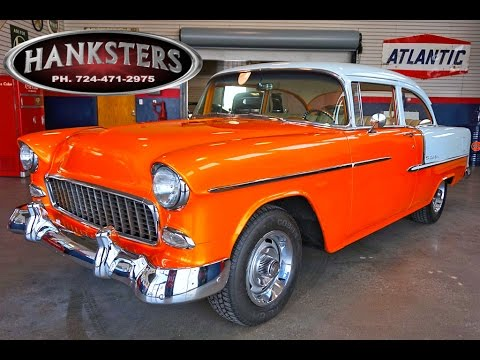 1955 Chevrolet Bel Air 210 w/ 350ci small block engine for sale - Hanksters