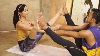 vuclip Yoga berpasangan untuk menambah stamina seks