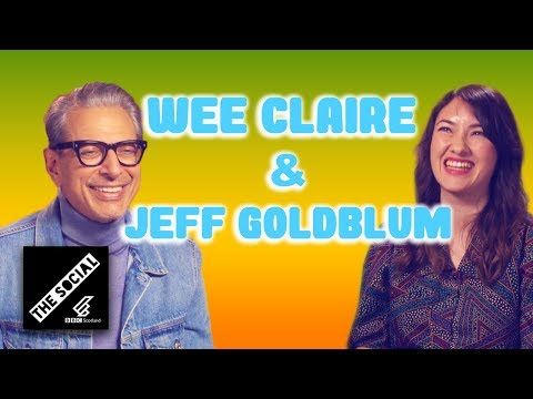 Wee Claire Interviews JEFF GOLDBLUM | Wee Guides