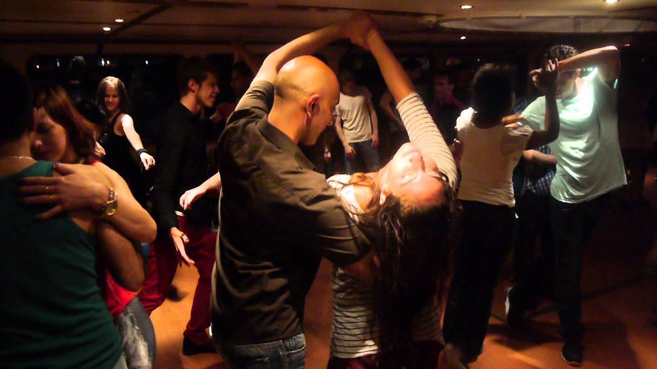 Brazilian Zouk Social Dancing Nilesh & Julia, Zouk Mania