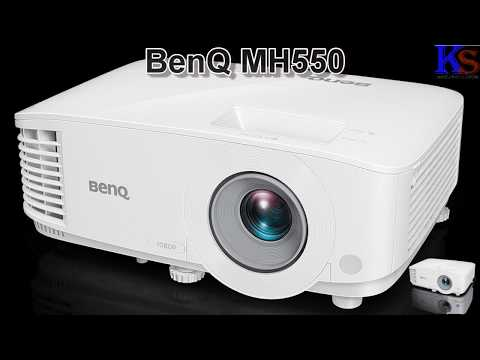 BenQ MH 550 Projector  Unboxing