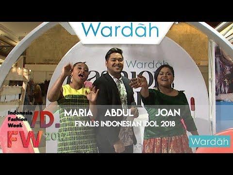 Indonesia Fashion Week Wardah With Finalis Indonesian Idol 2018