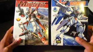 (NG) 1/144 Freedom & M1 Astray Gundam Model Kit [Unboxing]