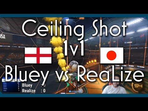 Ceiling Shot Only 1v1 | Bluey vs ReaLize