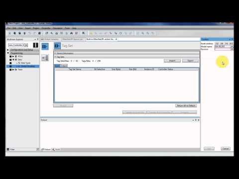 NX EtherNet/IP Setup and Configuration to Sysmac NJ