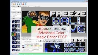 DMDMK66 - DMDMX7, Advanced Color, Magic Editor TEST
