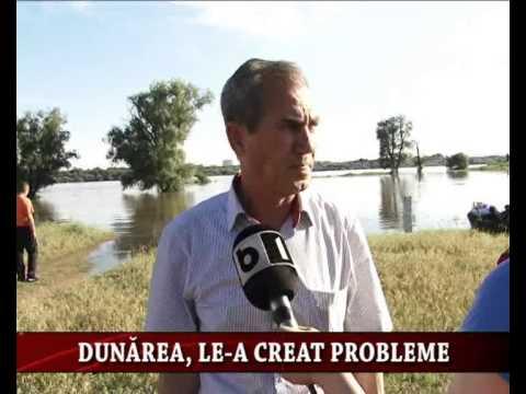 Dunarea, le-a creat probleme