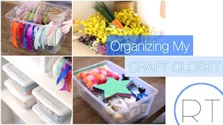 art room organization